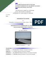 Ressources en Eaux, Mobilisation Et Utilisation Dans Le Bassin Versant de La Mafragh