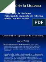 1 Tratatul de La Lisabona, In Vigoare de La 1 Decembrie 2009