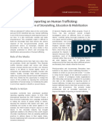 Media Reporting on Human Trafficking