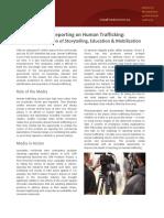 Media Reporting on Human Trafficking