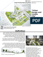 Urban Design and Livable City