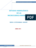 Microcuenca de Maribamba