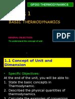 Chapter 1 Basic Thermodynamics