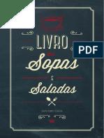 Livro Das Sopas Saladas 2014