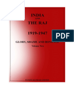 Book India and Raj 1919-1947 Part - 1