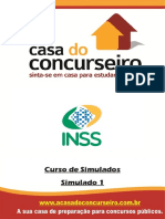 SIMULADO 1 INSS