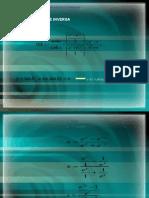 Deduccion de  funciones hiperbolicas Tan y Ctg