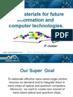 Nano Meta PowerPoint Presentation 2012