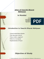 Perception of Swachh Bharat Abhiyaan