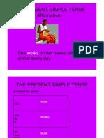 English - The Present Simple Tense