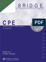 Cambridge CPE Exam Handbook 1998