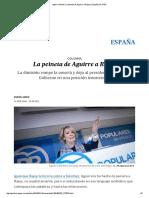 Aguirre Dimite_ La Peineta de Aguirre a Rajoy _ España _ EL PAÍS