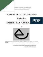 Calculos en La Industria Azucarera