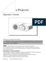 3M Projector User Manual S20