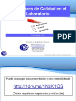 METROQUIMICA - CHESNIUK - Indicadores de Calidad en El Laboratorio