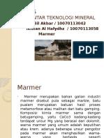 TUGAS MARMER