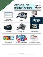 Bingo Medios Comunicacion Fotos 3x3