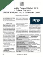 Reeducacion Postural Global RPG Dialnet.pdf