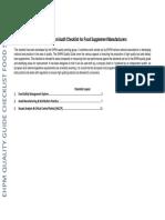 01 Manufacturer Checklist 101214