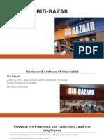 Service blueprint-Big Bazar