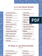 50 Ways to Use Board Builder