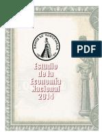 Estudio de La Economia Nacional 2014