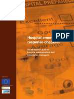 Hospital Emergency Responsasfe Checklist Eng