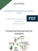 Palestra  Manuel Braz