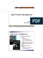 Agile Product Management Software Development Best Practices 2005