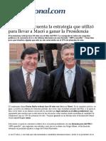 La estrategia que utilizó Durán Barba  para llevar a Macri a la presidencia