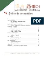 Revista Colegio S Isidoro y Sta Florentina