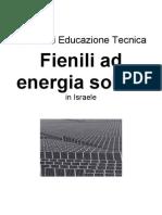 Tesina Di Educazione Tecnica_Fienili Ad Energia Solare in Israele