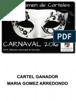 Carteles Carnaval 2016