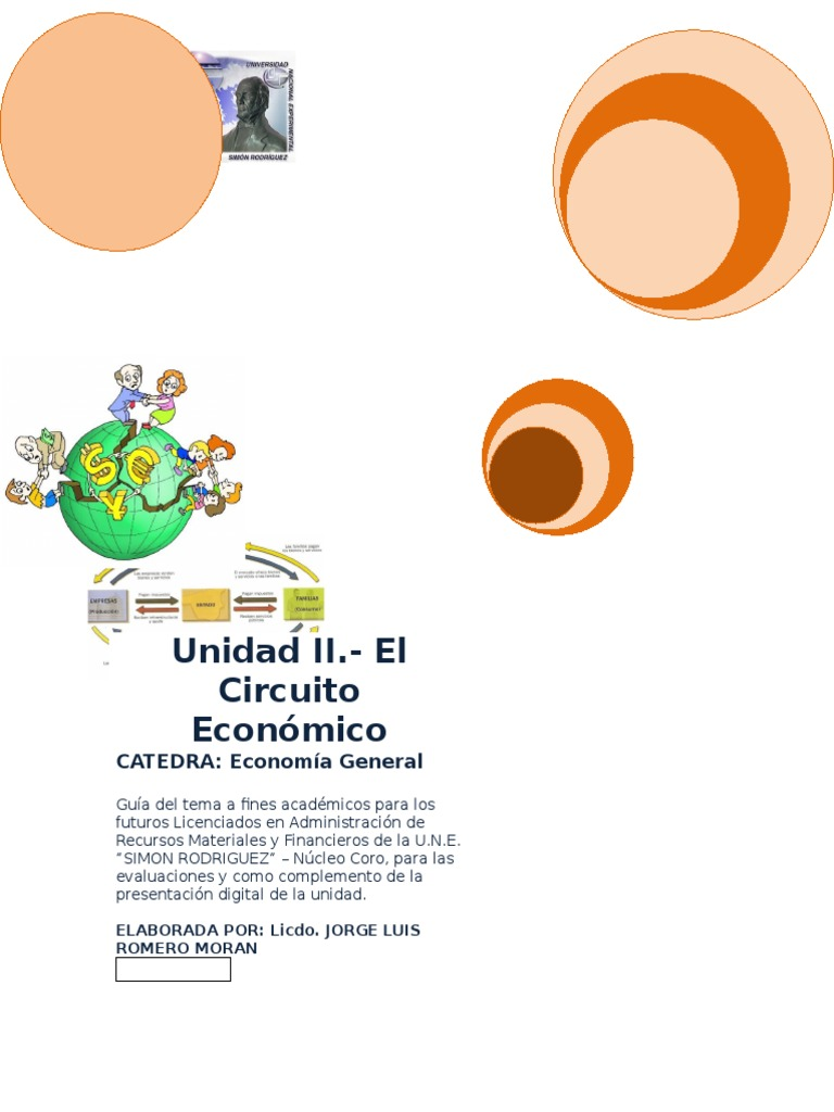 Circuito Economico : Guia unidad el circuito economico