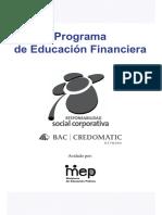 Educación Financiera Módulo 1