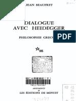 Dialogue Avec Heidegger - 1
