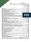 checklist module 2