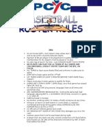 Pcyc Basketball Rules 2016