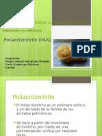 PRESENTACION POLIACRILONITRILO