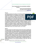 Filosofía y Método en La Gene..
