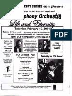 UCF Symphony Orchestra - Czech Program