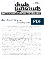 Gasschutz Und Luftschutz 1938 Nr.1 Januar