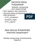 Mekanisme Kerja Antipsikotik