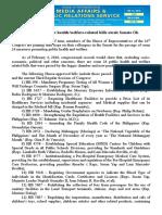 feb12.2016 bTwo dozen public health/welfare-related bills await Senate Ok