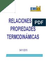 9. Relaciones de Propiedades Termodinamicas