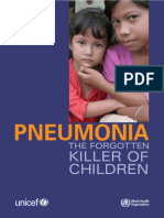 Pneumonia the Forgotten Killer of Children