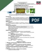 1. Evaluación Del Impacto de Proyecto de Educación Ambiental