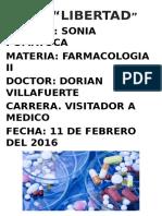 La Farmacocinética.