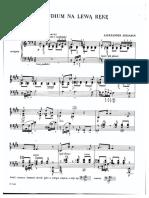 Scriabin - Prelude for the Left Hand, Op. 9