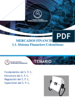 1.1. El Sistema Financiero Colombiano